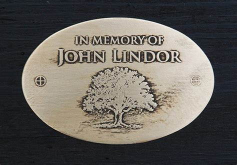 engraved plaques for benches personalized plaque for a memorial garden bench by insigniaworks