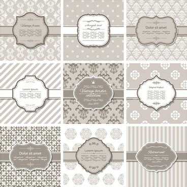 free background pattern undangan pernikahan vector frame undangan vintage free vector download 10 748