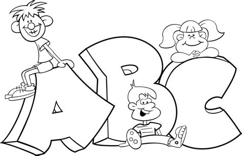 printable coloring pages abc free printable abc coloring pages for kids