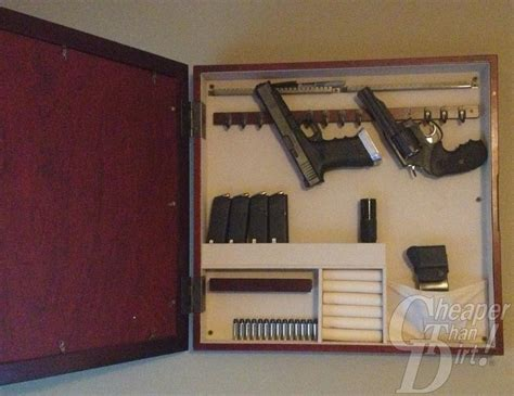 diy hidden storage diy hidden gun cabinet plans myideasbedroom com