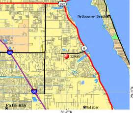 where is palm bay florida on the map florida palm bay fl zip code map zip code map