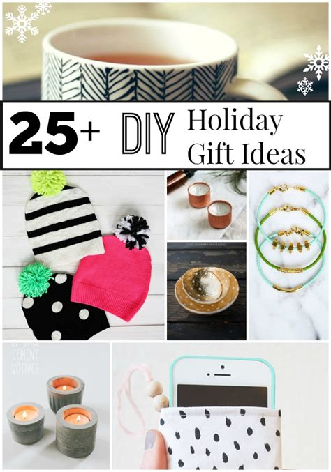 25 diy holiday gift ideas artzycreations com