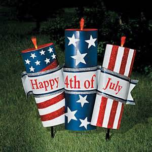 4th of july metal yard decorations crafts