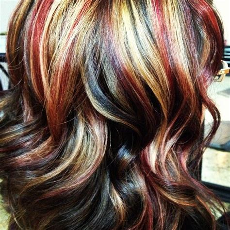 Tri Color Hairstyles Hair Tri Color Hd Golden Brown And A Light Mocha H A I R Inspo Golden