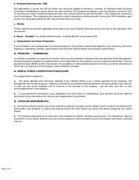 esi cancellation letter format offer letter pdf rispl