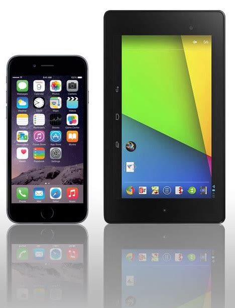 will apple iphone 6 plus help doom 7 inch tablets zdnet