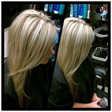 high and low lights for blond hair blonde highlights with caramel lowlights hair