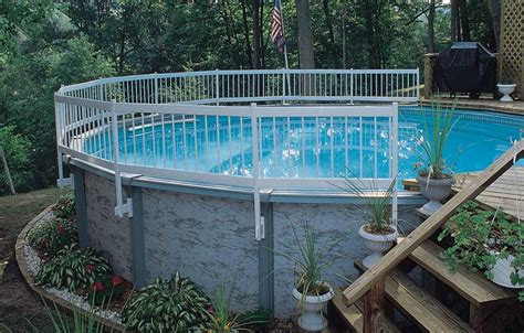 above ground pool deck fencing pool deck paint pool deck ideas home design