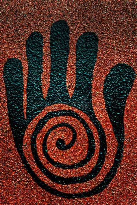 healing hand symbol stock photo image  healing