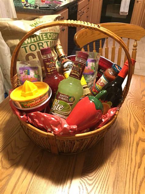themed gift baskets ideas margarita raffle basket gift baskets pinterest