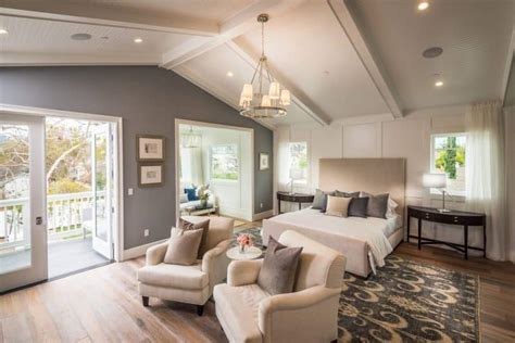 gorgeous master bedrooms  hardwood floors art