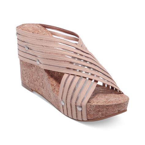 lucky brand wedge sandals lucky brand miller 2 wedge sandals in beige lyst