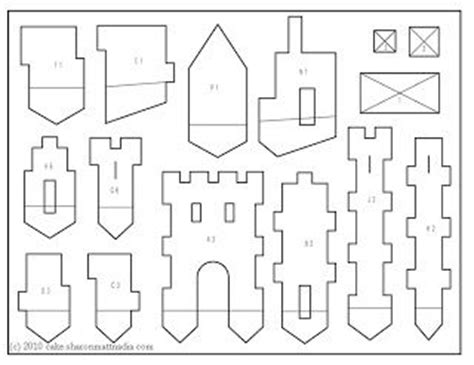 castle templates castle template printable at a lot of photos of
