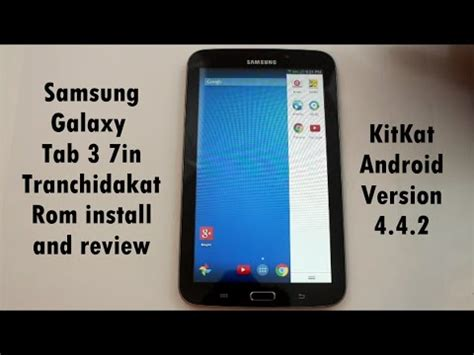 Samsung Tab 3 Rm samsung galaxy tab 3 tranchidakat rom install and review