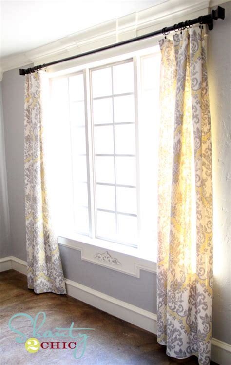 how to sew lined curtains dining room window panels shanty 2 chic