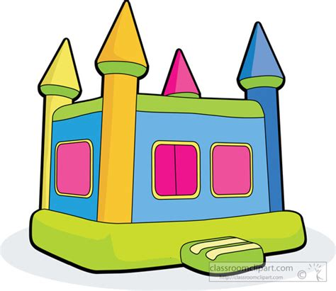 children s bounce house toys clipart childrens bouncy house classroom clipart