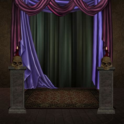 curtains bg studio 10 by collect and creat on deviantart
