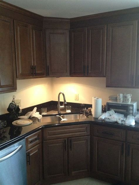 Kitchen Cabinets Corner Sink Two Poor Teachers Kitchen Remodel Corner Sink Stainless Steel Dishwasher Cabinets