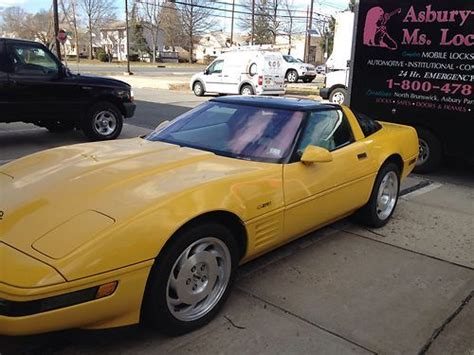 auto air conditioning service 1993 chevrolet corvette parking system find used 1993 corvette zr1 in new brunswick new jersey united states