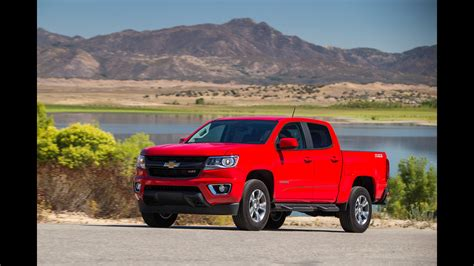 Mid Sized Truck Reviews by Review All New Chevy Colorado Gmc Add Vigor To
