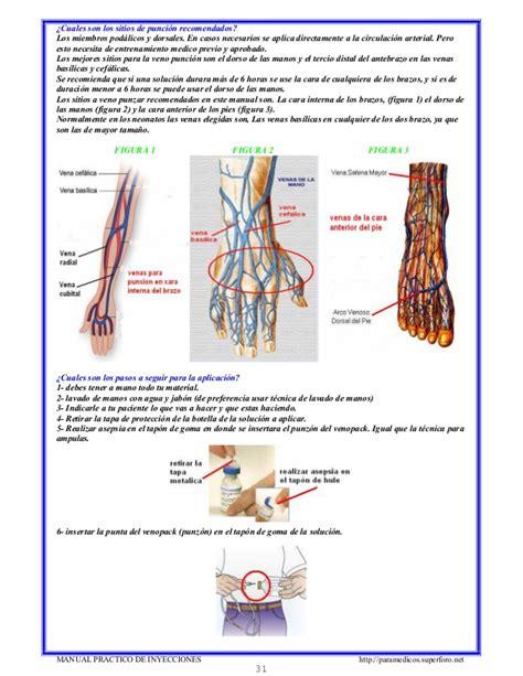 manual prctico de la manual practico de inyecciones