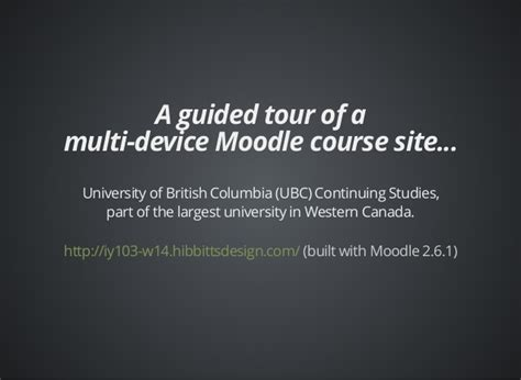 moodle theme shoehorn moodle moot nz14 designing a multi device moodle course