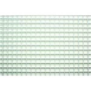 23 75 in x 47 75 in white egg crate styrene lighting