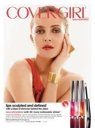 Drew Barrymore Signs Major Caign With Covergirl Cosmetics by Mac Makeup Covergirl And Ad Caigns On