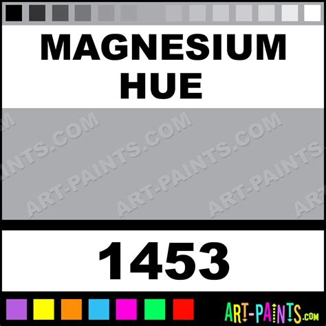 magnesium metalizer enamel paints 1453 magnesium paint