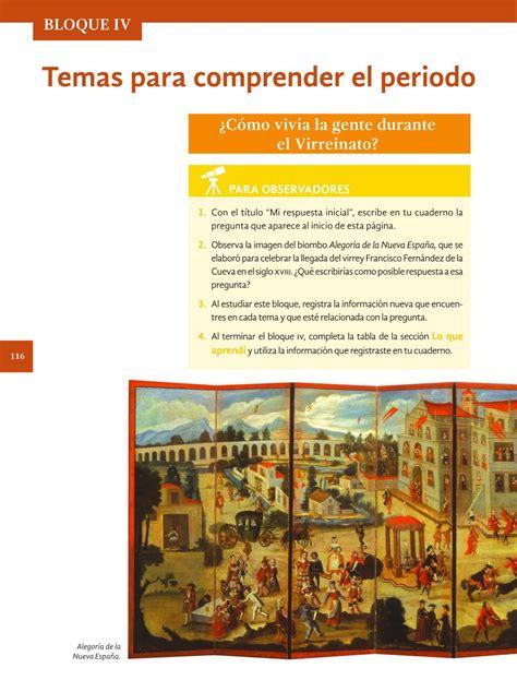imagenes del libro de historia del bloque 4 respuestas libro de historia de 4 grado bloque libros de