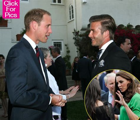 See Hear Beckham On Being A Prince by Prince William Kate Middleton With David Beckham