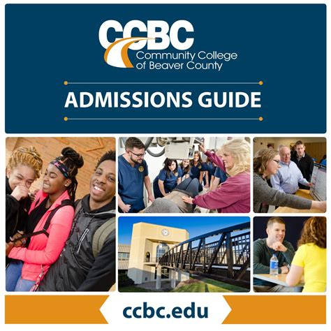 ccbc admissions guide by community college of beaver