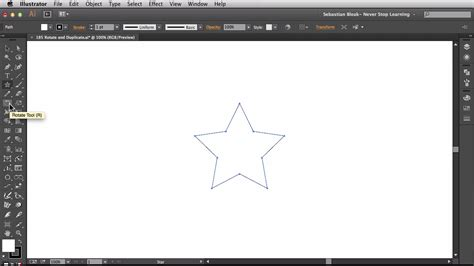 illustrator tutorial rotate duplicate n s l week 185 adobe illustrator cc 2014 rotate and