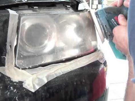 politur autoscheinwerfer youtube