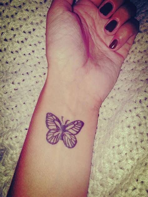 wrist butterfly tattoo wrist images designs