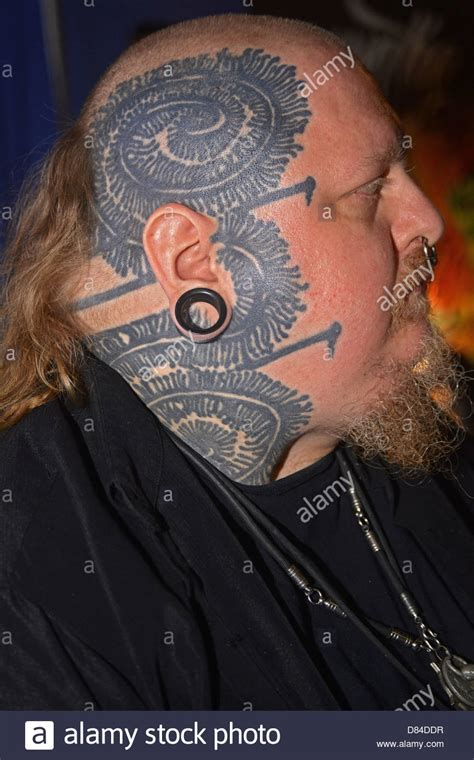 paul booth paul booth a man with face tattoos at the 16th annual new