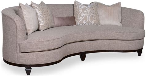 kidney sofa blair fawn 101 quot kidney sofa from art 502501 5015aa