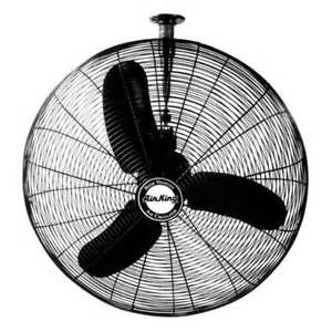 Ceiling Mounted Oscillating Fan Air King 9374 24 Quot 1 3 Hp Oscillating Ceiling Mount Fan