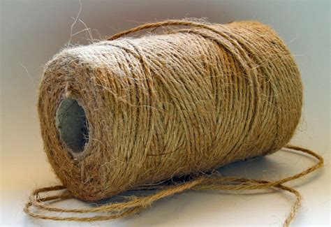 String String - 200 meters jute twine gift tag string cord by