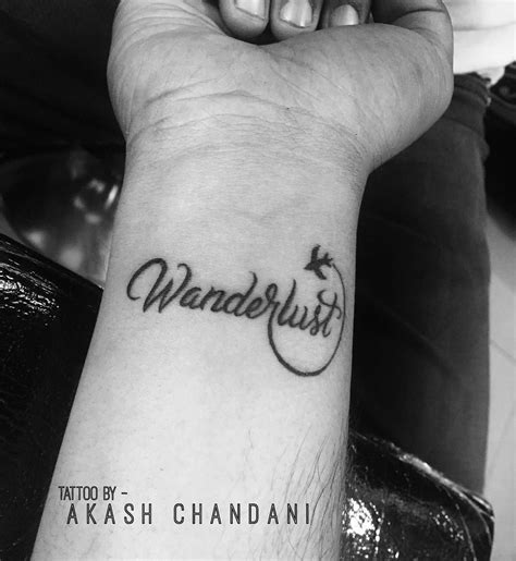 tattoo wrist wanderlust wonderlust tattoo me now pinterest tattoo designs