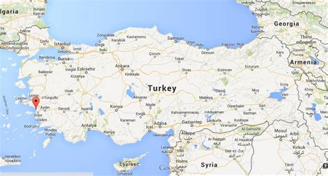 kusadasi map where is kusadasi on map turkey