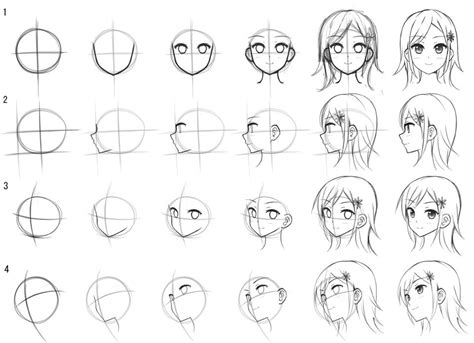tutorial gambar sketsa anime drawing anime 4 februari 2016