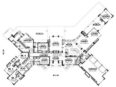 elegant two story with angled garage 6855am captivating angled house plans photos plan 3d house