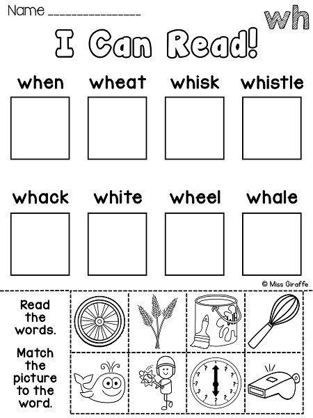 wh worksheets activities no prep tpt language arts