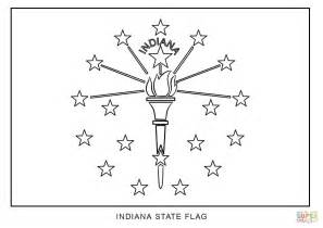 indiana state tree coloring page flag of indiana coloring page free printable coloring pages