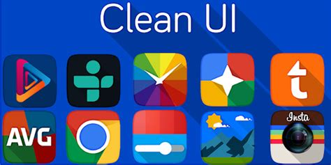 clean ui launcher full version apk app clean ui icon pack apk for windows phone android