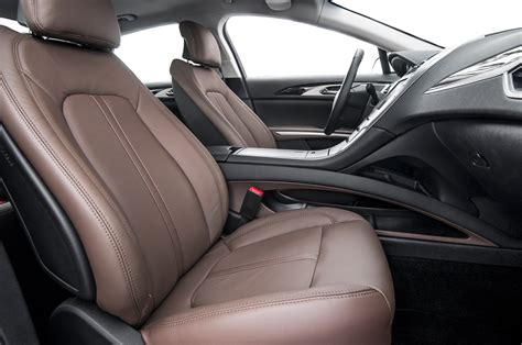 Interior Of Lincoln Mkz by 2014 Lincoln Mkz Hybrid Test Motor Trend