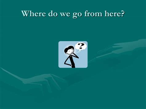 Where Do We Go From Here Chaos Or Community Essay by Attitude Ppt Presentation Free