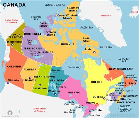 canadian map by states mapping out canada 6th grade geography with smith at