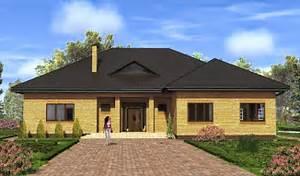 проекты кирпичные дома под ключ фото и цены